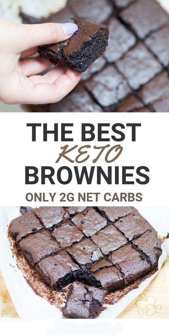 The Best Fudgy Keto Brownies