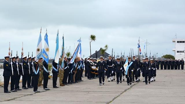 Recordaron el 35º aniversario del Bautismo de Fuego del Arma Submarina Argentina