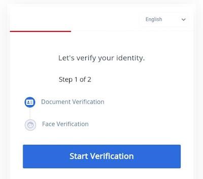 Cara mendaftar di P2PB2B exchange dan cara verifikasinya, gratis 100 Token PACT