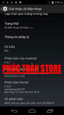 Rom Oppo P8+ mt6572 copy alt