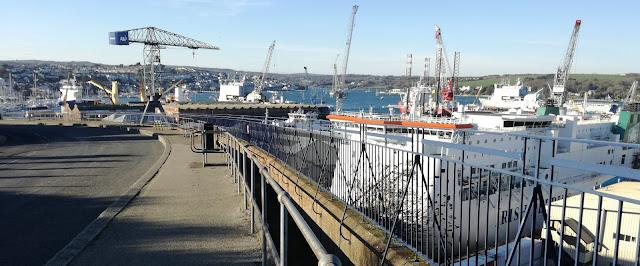 Falmouth docks