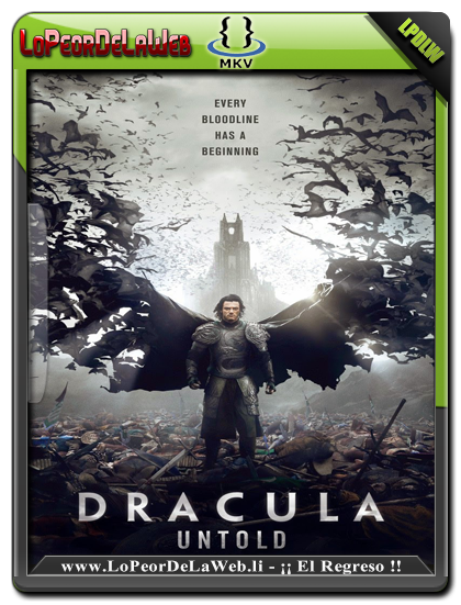 Drácula, La Leyenda Jamás Contada (2014) BRrip 720p Dual