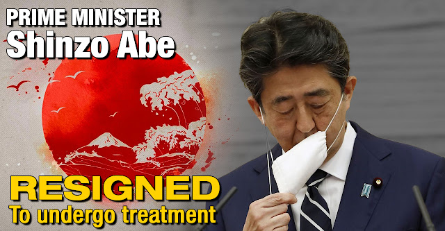 Japanese Prime Minister Shinzo Abe resigned to undergo treatment for a chronic illness, ending his run as the country's longest serving premier.