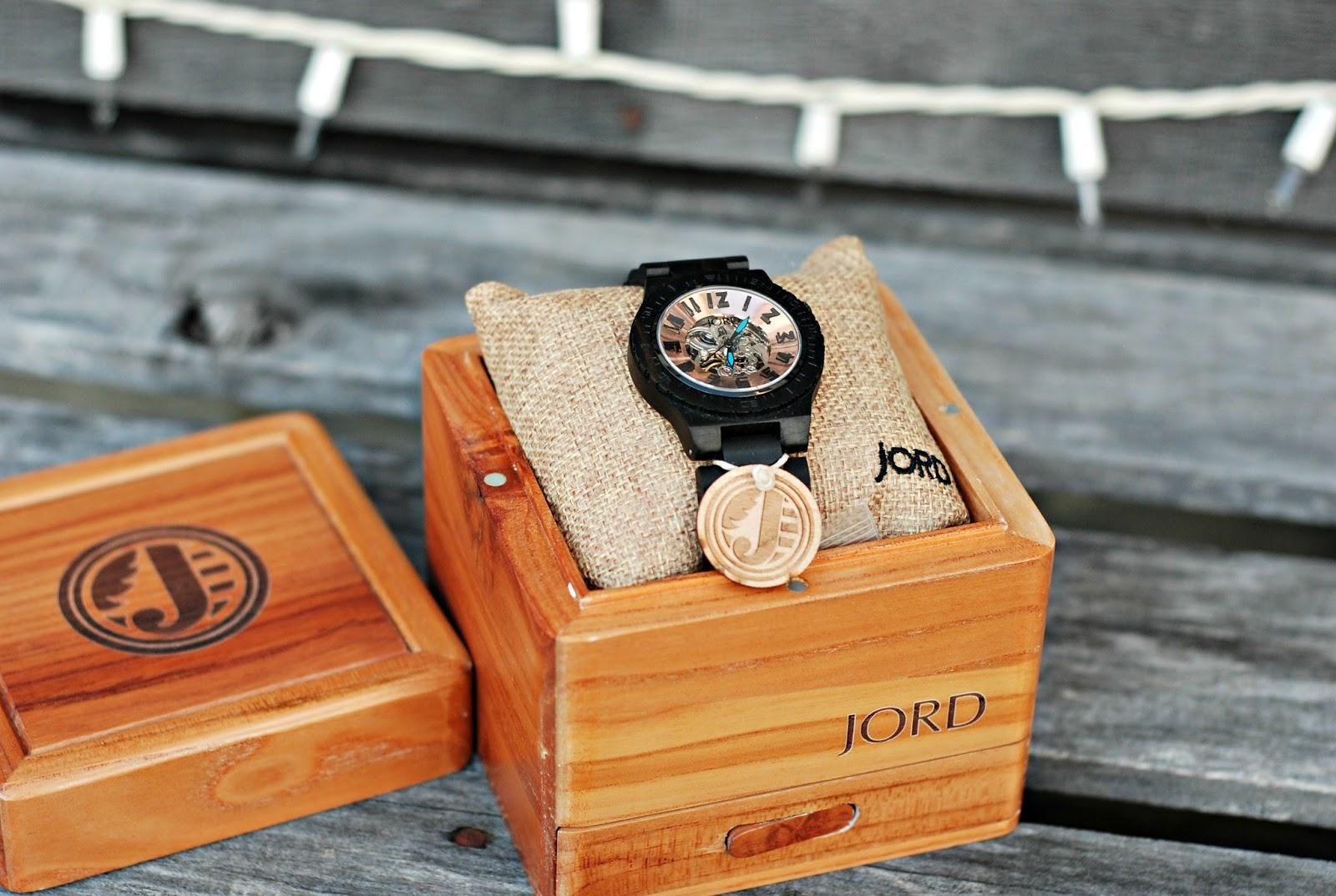 Hall Around Texas JORD Wood Watch