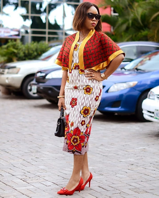 2019 African Fashion: Latest Beautiful Ankara Short Gown Styles