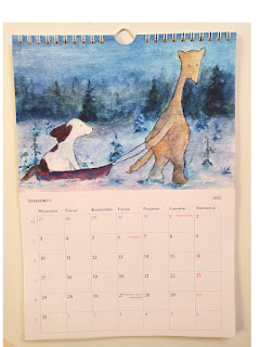 Tuunattu Hulmu ja Haukku kalenteri 2022