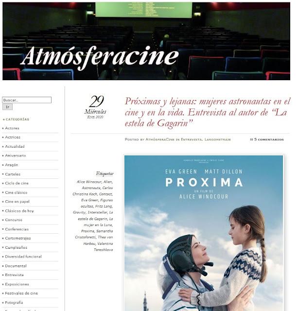 https://atmosferacine.com/2020/01/29/proximas-y-lejanas-mujeres-astronautas-en-el-cine-y-en-la-vida-entrevista-al-autor-de-la-estela-de-gagarin/