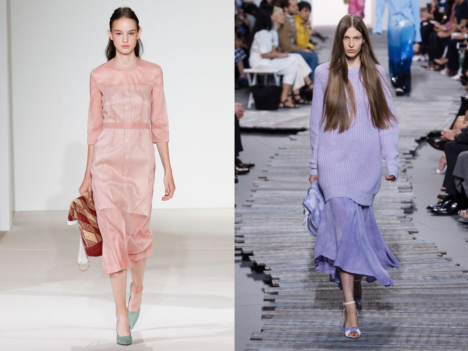 Trendy wiosna/lato 2018. Co modnego będzie na wiosnę/lato 2018? Pastele, różowy total look, szorty, trencz, ołówkowa spódnica