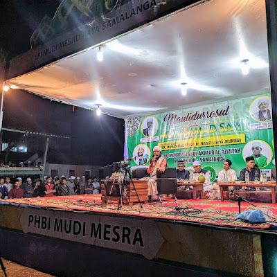 TPQ Muhazzabul Akhlak Al-Aziziyah Rayakan Maulidurrasul