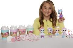 Сюрпризы Kitten Catfé Purrista Girl: куклы-кошки в стаканчиках смузи