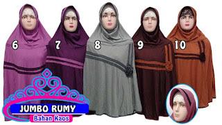 Grosir jilbab jumbo murah cantik dan terbaru bahan kaos