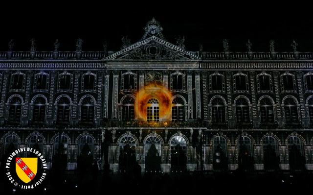 """NANCY (54) - Son et lumière """"Rendez-vous Place Stanislas 2016"""""""