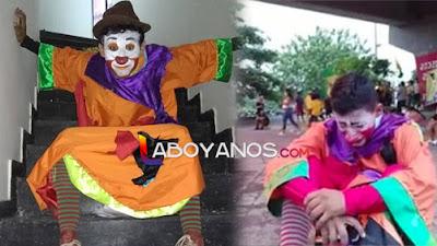 """""""Retazos Clown"""" el joven artista que es calificado de """"vándalo"""" por apoyar el paro en Neiva"""