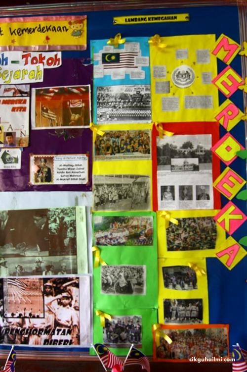 SKPanji Idea Hiasan Kelas Sempena Sambutan Hari Kebangsaan