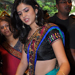 Deeksha Seth In Saree Stills