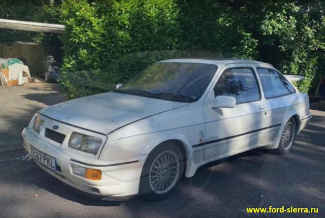 Ford Sierra хранился в сарае 28 лет и был продат за 80 000 тысяч евро.