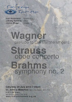 Sinfonia Tamesa, Tom Hammond, Johnny Roberts - Wagner, Strauss, Brahms, 20 july 2013