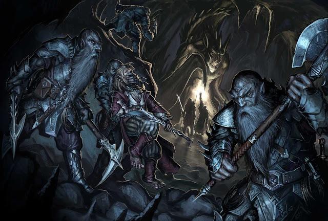 Los Enanos, Señores de la Forja y Reyes de la Montaña - Duergar