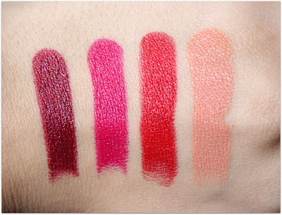 Wet n Wild LE Halloween 2015 Lipstick Swatches