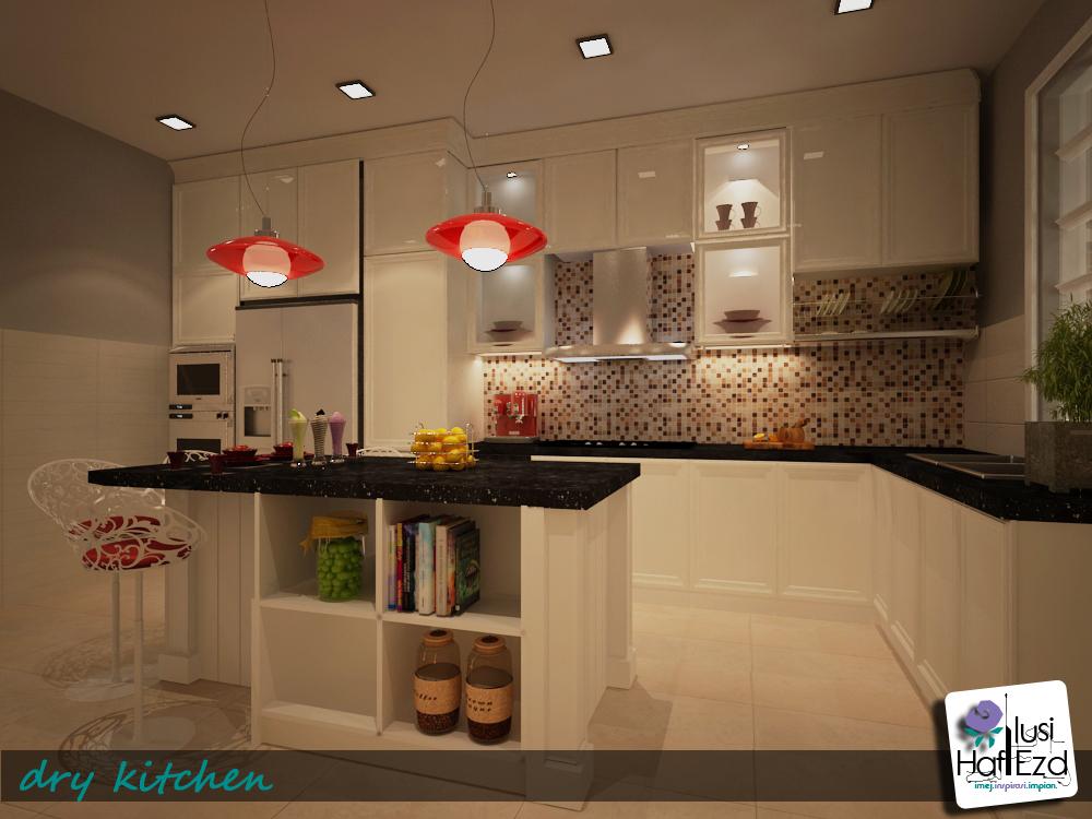 Warna Putih Adalah Pilihan Yang Paling Digemari Kebanyakan Orang Ira Kayu Juga Menarik Untuk Menampn Ciri Rustic Dalam Ruang Dapur