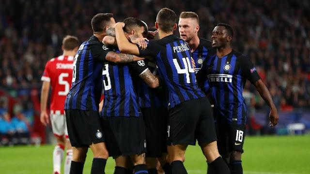 Gol PSV Melecut Semangat Inter Milan