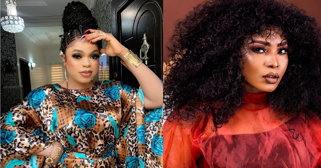 Idris, You are a fool, Maggot will eat you- Halima Abubakar blast Bobrisky as the fight continues