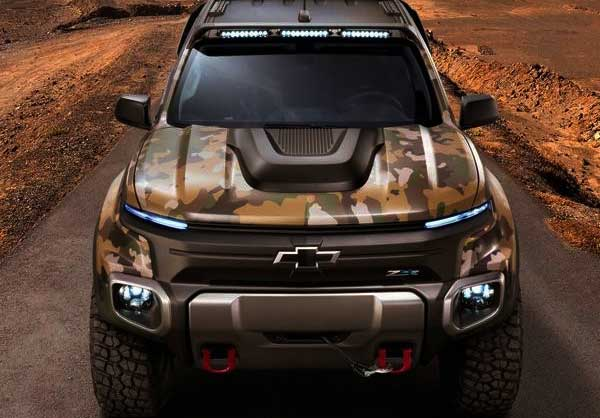 2017 Chevrolet Colorado ZH2 concept army launched in U.S