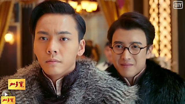 William Chan and Ying Hao Ming in The Mystic Nine