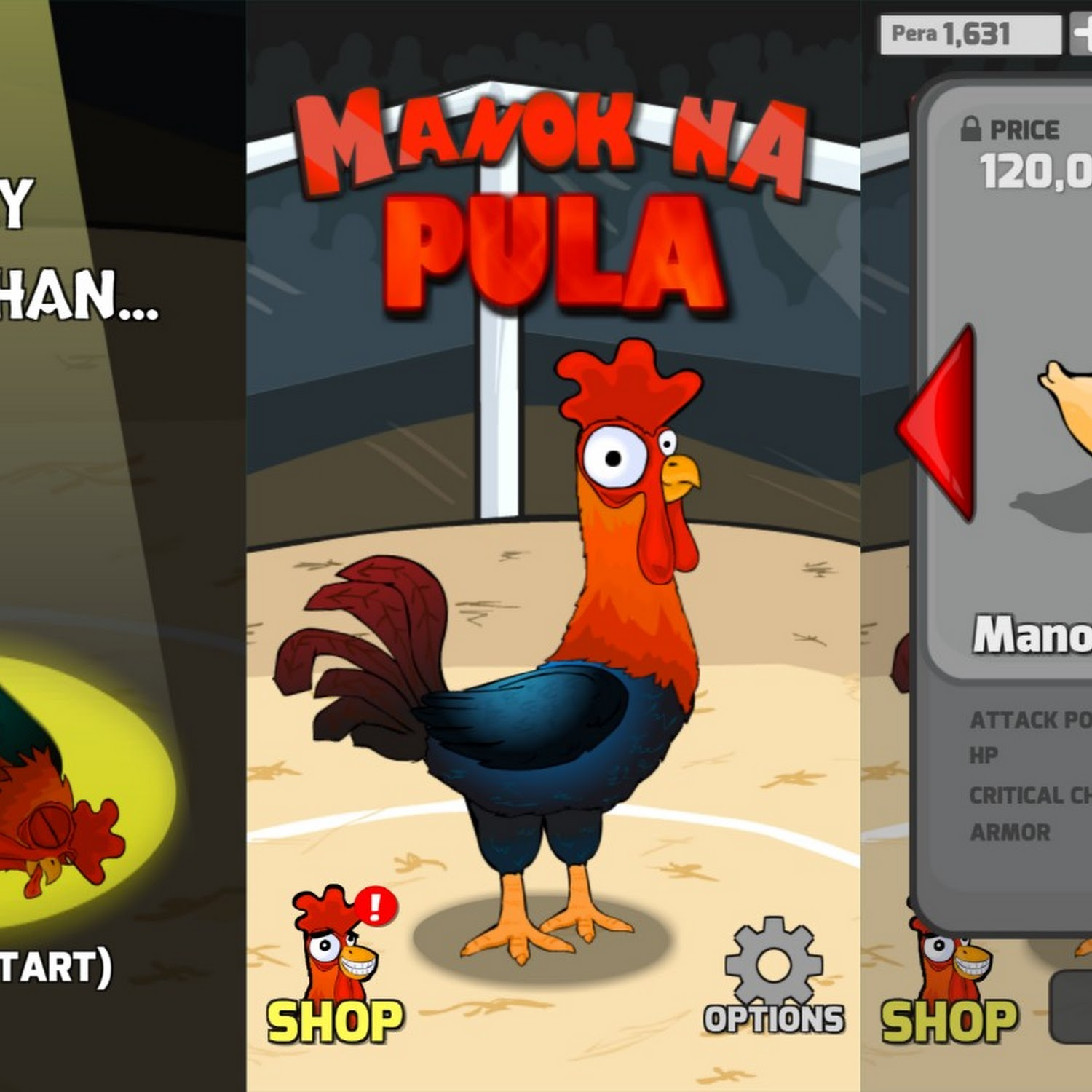 Manok Na Pula by Tatay Games: Download App Sabungan Game