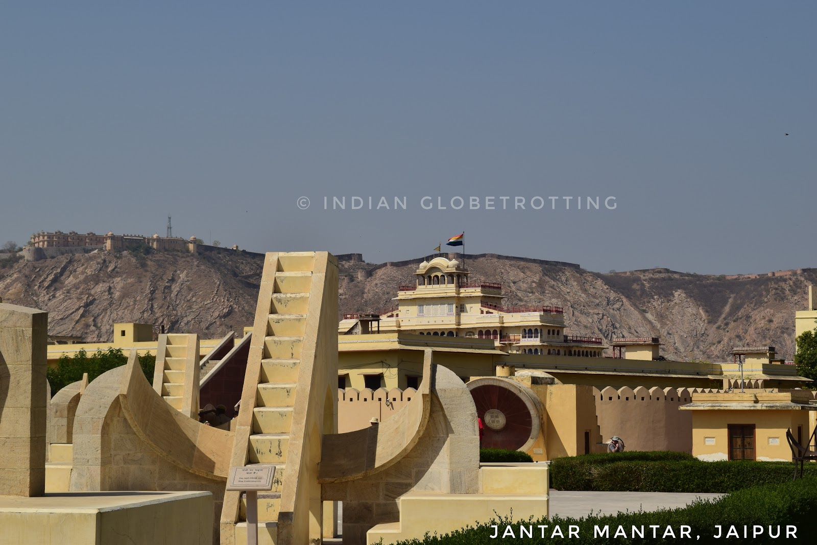 Jantar Mantar Observatory is a stone observatory in Jaipur Rajasthan