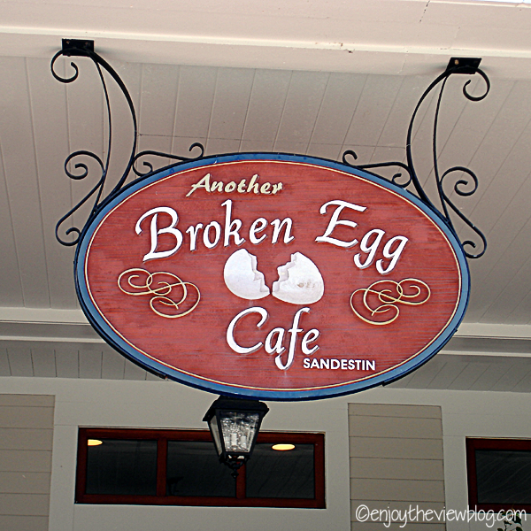 Another Broken Egg Cafe sign