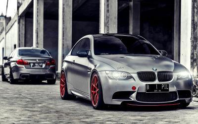 BMW Chrome Mat - Fond d'écran en Full HD 1080p