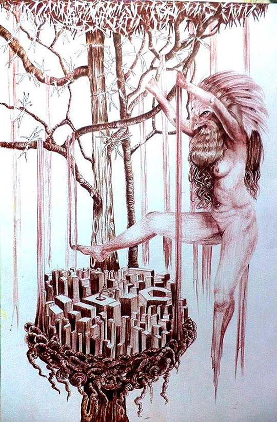Ilustración de Catalina Yela Santacruz