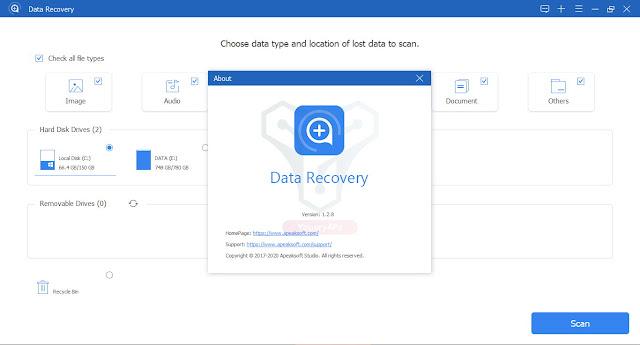 تحميل ApeakSoft Data Recovery لاسترجاع الملفات المحذوفة