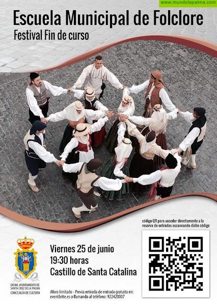 El Ayuntamiento organiza este viernes el festival de clausura de la Escuela Municipal de Folclore