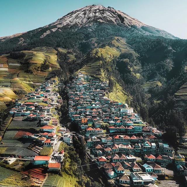 Tiket Masuk, Lokasi dan Rute Dusun Butuh Nepal Van Java Kaliangkrik Magelang