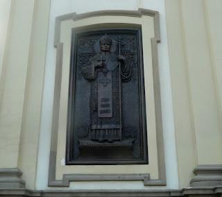 Ивано-Франковск. Кафедральный собор св. Вознесения. Барельефы
