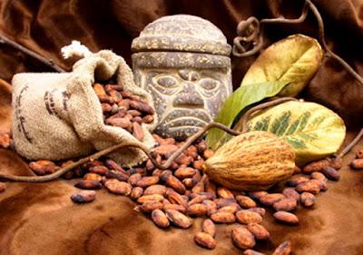 Bebidas comida de cacao