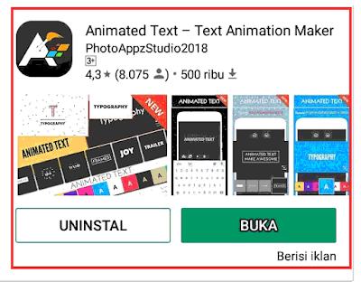 Cara Membuat Status Teks Animasi Unik dan Keren Di WhatsApp