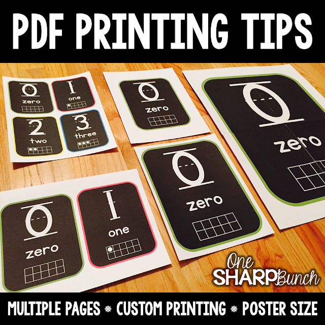 The Primary Pack: PDF Printing Tips