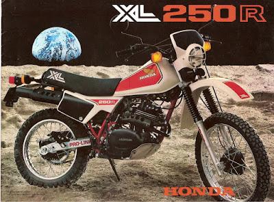 XL250R 1982 - A minha primeira vez...