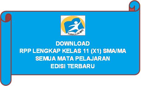 Download RPP Matematika Wajib Kurikulum 2013 Kelas 11 (XI) SMA/MA Tahun Pelajaran 2021/2022