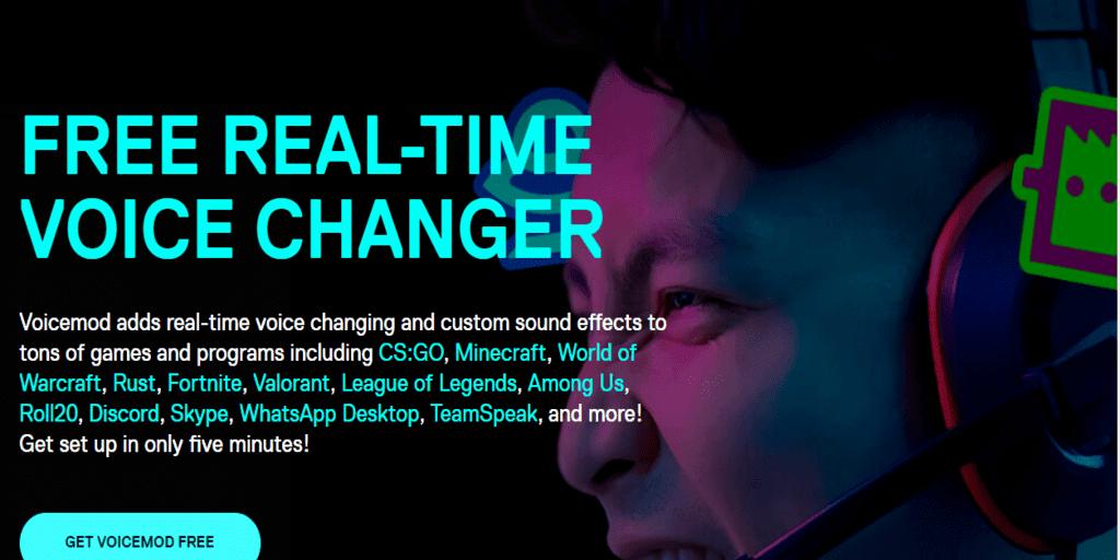 voicemod realtime voice changer app