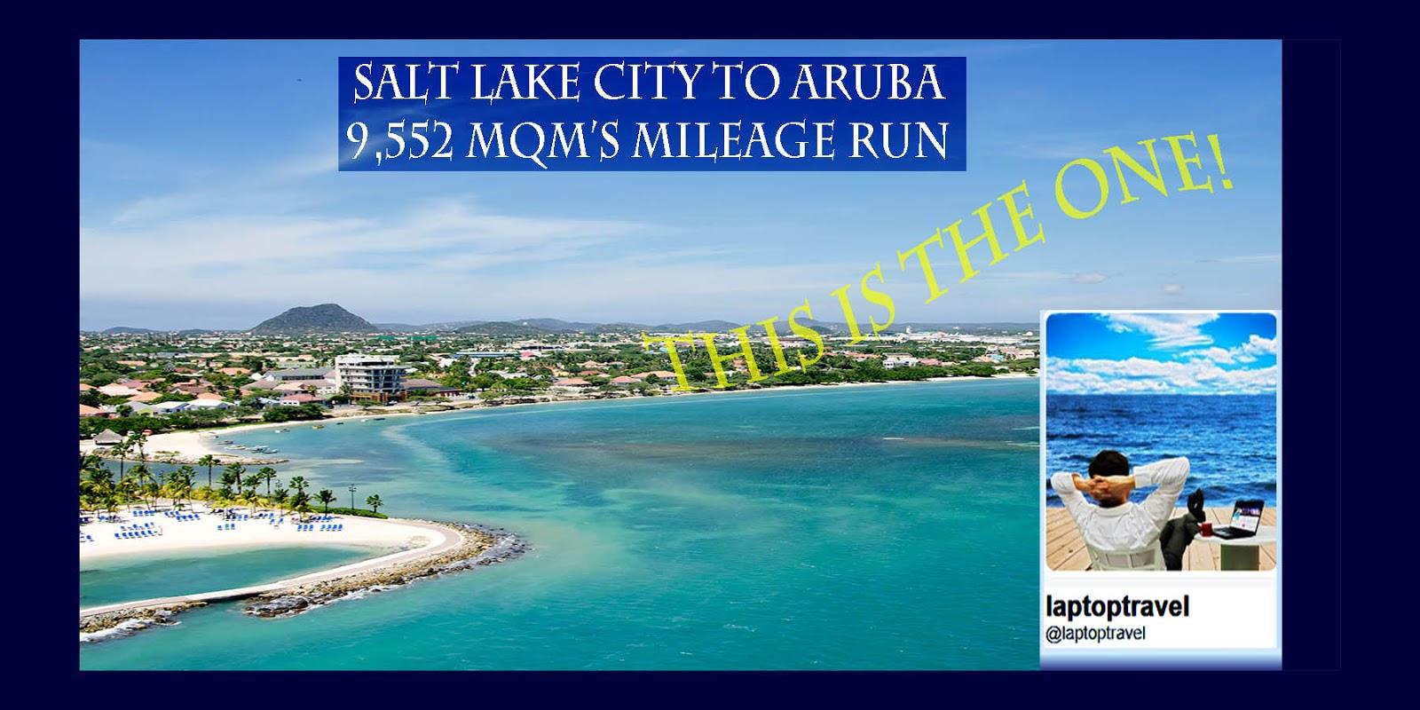 Mileage Run Mini Vacation