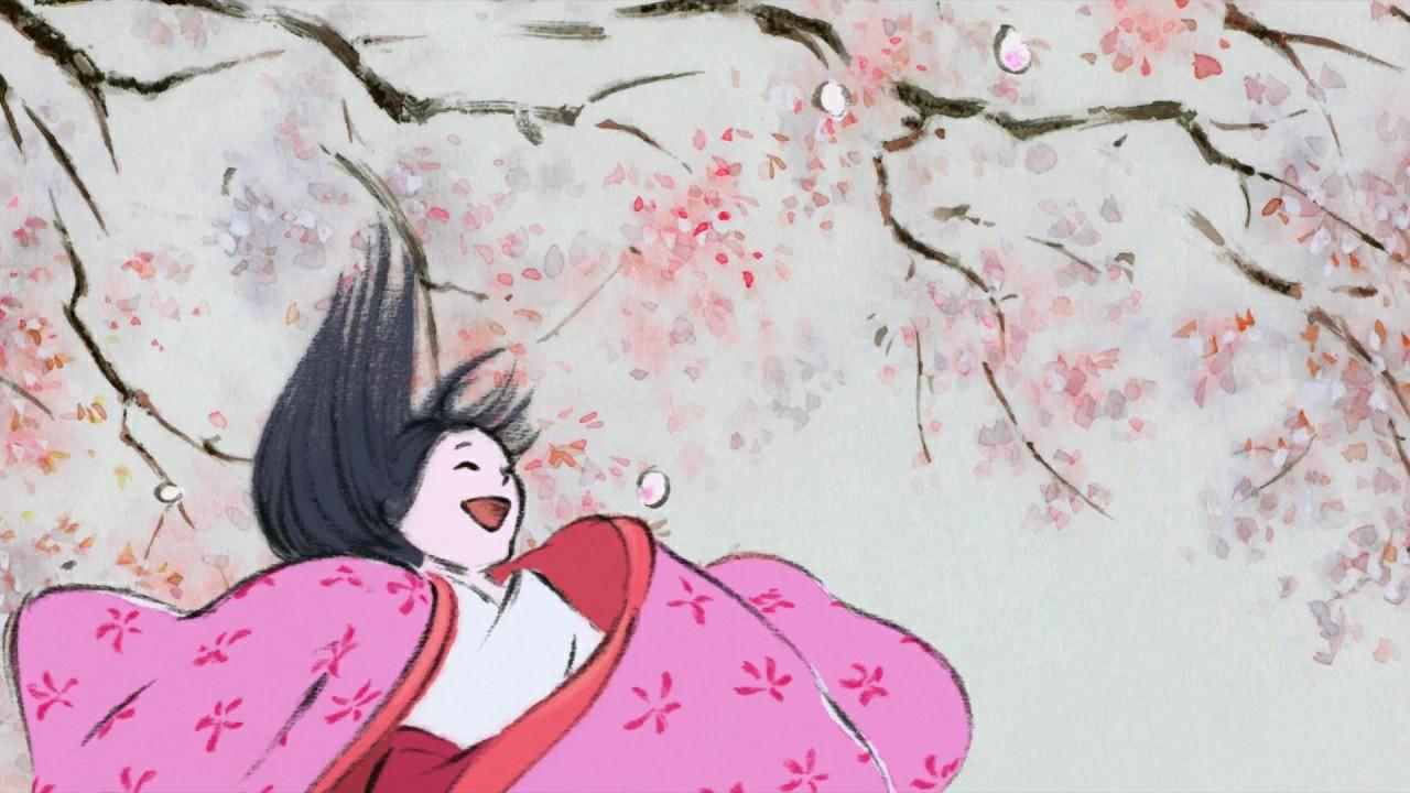 Review Anime Movie Kaguya Hime No Monogatari  -  Burung Dalam Sangkar