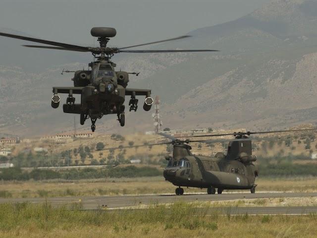 Ηράκλειο: Ελικόπτερα της Αεροπορίας Στρατού θα εδρεύουν στο αεροδρόμιο (ΦΩΤΟ)