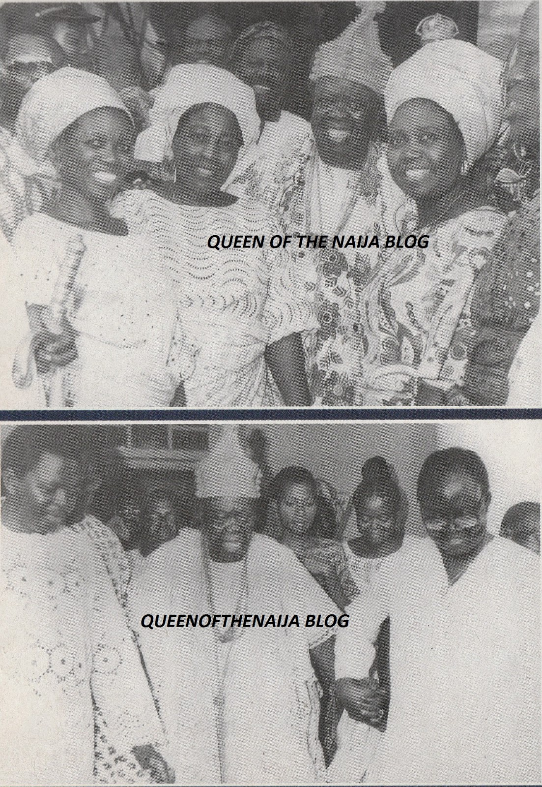 Oba Adesoji Aderemi according to tradition was married to many wives known as the oloris,here are a few of them