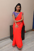 tejaswini sizzling photos in saree-thumbnail-15