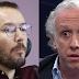 Pablo Echenique explota contra Eduardo Inda