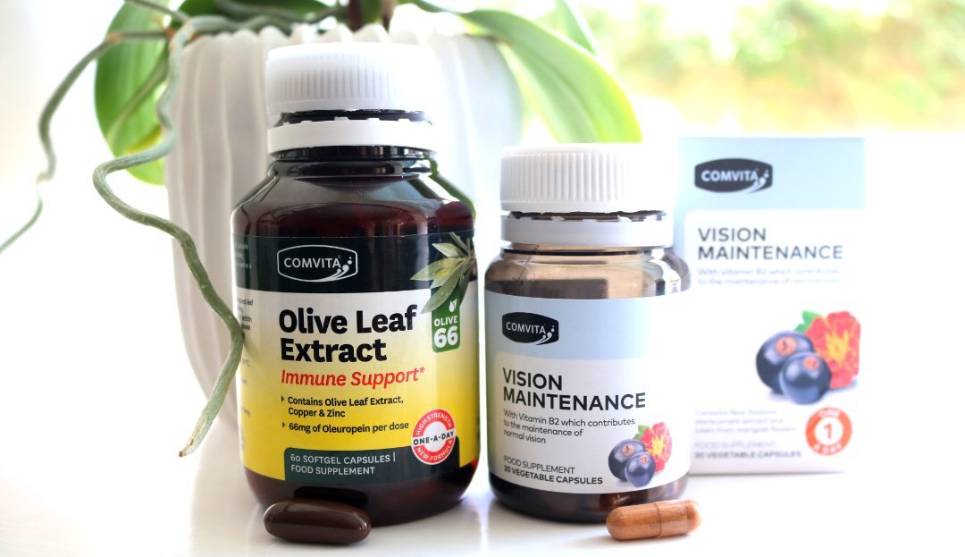 Comvita Olive Leaf Extract Immune Support & Vision Maintenance supplements review